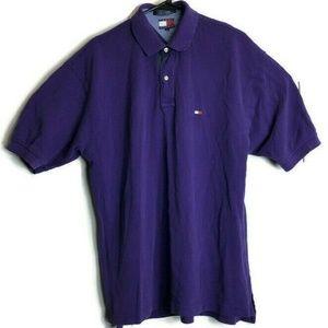 Vintage Tommy Hilfiger Flag Polo Shirt